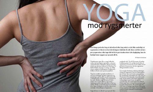 Yoga mod rygsmerter